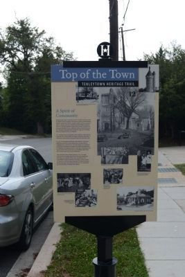 A Spirit of Community Marker<p> image. Click for full size.