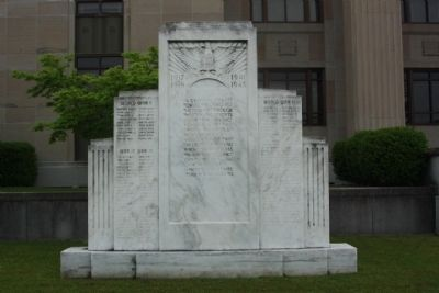 Lenoir County WW I and WW II Memorial Marker image. Click for full size.