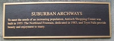 Suburban Archways Marker image. Click for full size.