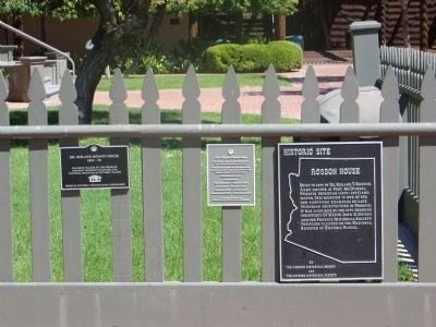 Rosson House Marker image. Click for full size.