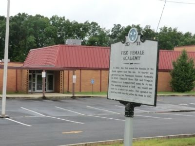 Fisk Female Academy Marker image. Click for full size.