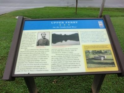 Upper Ferry Marker image. Click for full size.