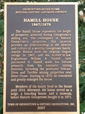Hamill House Museum Marker image. Click for full size.