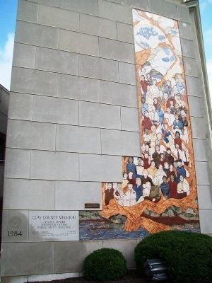 Faces of the Commonwealth Marker and Mural image. Click for full size.
