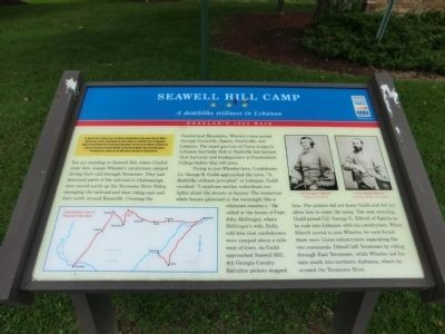 Seawell Hill Camp Marker image. Click for full size.