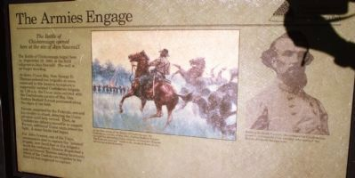 The Armies Engage Marker image. Click for full size.