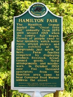 Hamilton Fair Marker image. Click for full size.