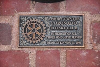 Rotary Club Marker image. Click for full size.