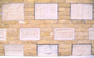 Kemper Hall Class Blocks on Durkee Mansion image. Click for full size.