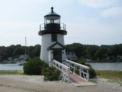 Reproduction of Nantucket Island's Brant Point Lighthouse image. Click for full size.