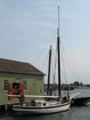 Oyster Sloop Nellie image. Click for full size.