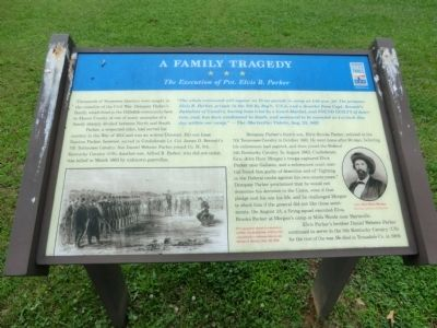 A Family Tragedy Marker image. Click for full size.
