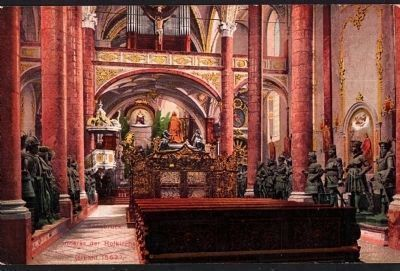 Interior of Court Church image. Click for full size.