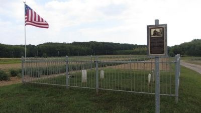 Shaw Family Cemetery and Marker image. Click for full size.