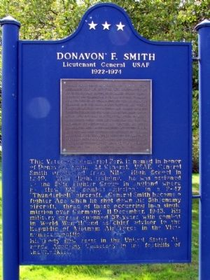 Donavon F. Smith Marker image. Click for full size.