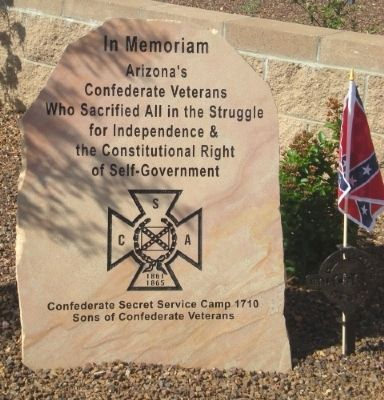 Confederate Veterans Memorial Marker image. Click for full size.