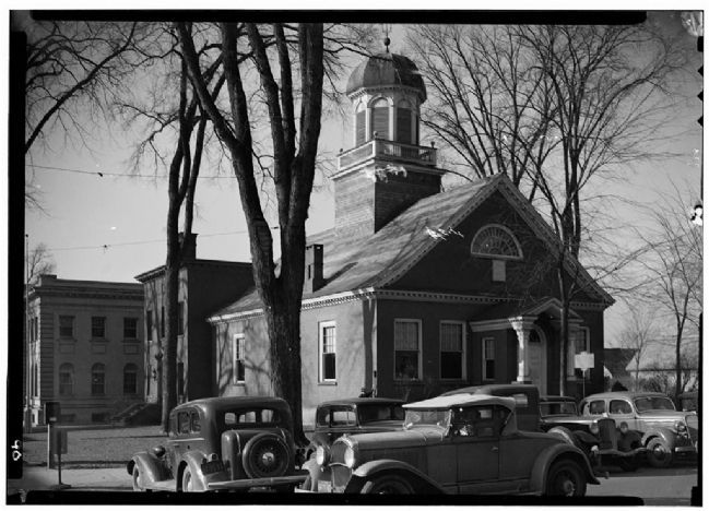 Old Courthouse, North William Street, Johnstown, Fulton Co., NY image. Click for full size.