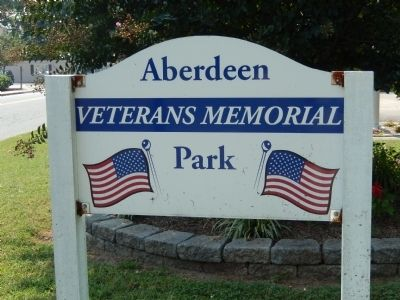 Aberdeen Veterans Memorial Park image. Click for full size.