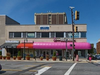 Building Blocks Marker<br> In front of T-Mobile, 8668 Colesville Road image. Click for full size.