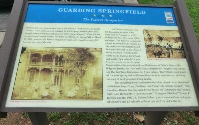 Guarding Springfield Marker image. Click for full size.