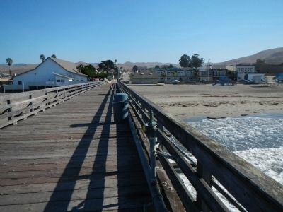 Cayucos From the Pier image. Click for full size.