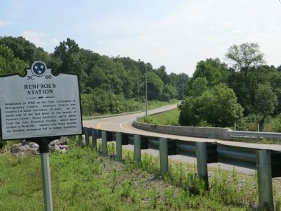 Renfroe's Station Marker image. Click for full size.