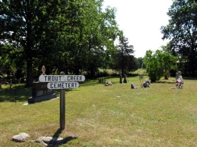 Trout Creek Cemetery image. Click for full size.