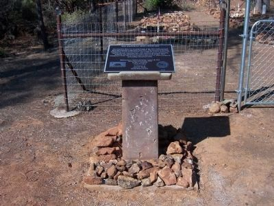 The Josephine Mine Cemetery Monument Photo, Click for full size