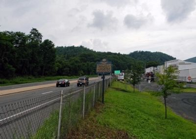 Wide view of the John Siney Marker image. Click for full size.