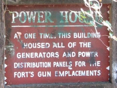 Power House Marker image. Click for full size.