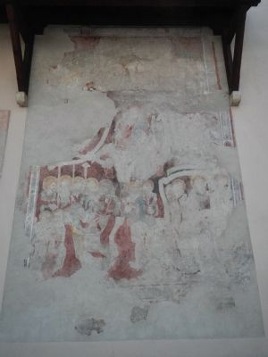Fresco on Dominican Church Wall image. Click for full size.