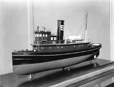 Model of Tugboat Socony 5 image. Click for full size.