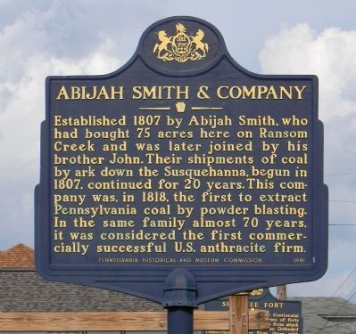 Abijah Smith & Company Marker image. Click for full size.
