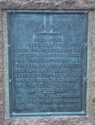 Finns Point Marker image. Click for full size.