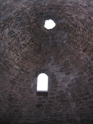 Inner Wall and Ceiling of Charcoal Oven image. Click for full size.