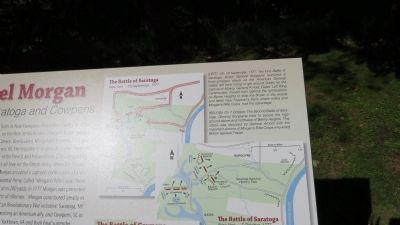 The Battle of Saratoga - additional detail image. Click for full size.