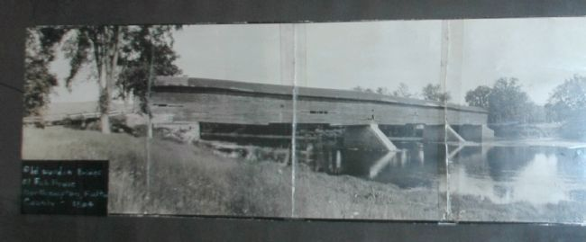 The Fish House Covered Bridge image. Click for full size.