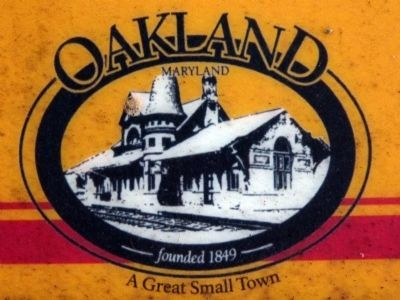Oakland Town Logo<br>A Great Small Town image. Click for full size.
