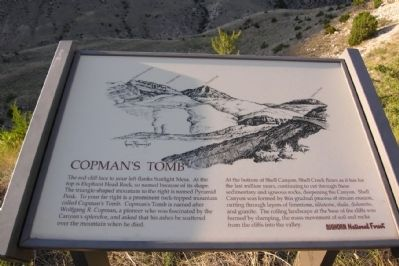 Copman's Tomb Marker image. Click for full size.