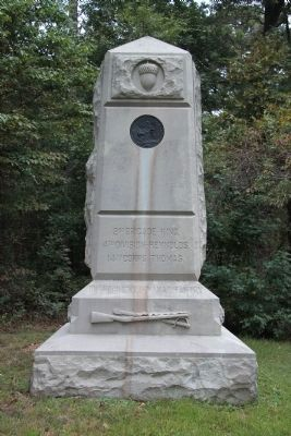 101st Indiana Infantry Marker image. Click for full size.