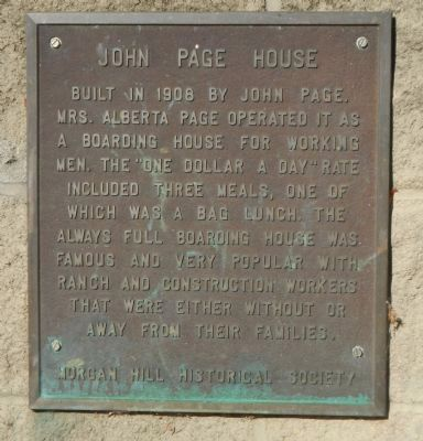 John Page House Marker image. Click for full size.