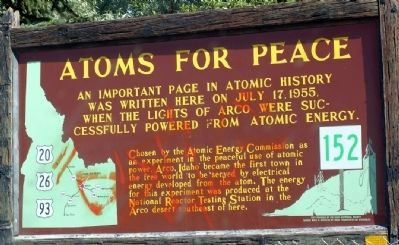 Atoms for Peace Marker image. Click for full size.