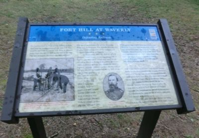 Fort Hill at Waverly Marker image. Click for full size.