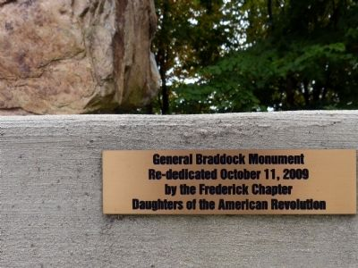 Re-dedication Plaque image. Click for full size.