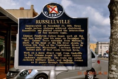 Russellville Marker image. Click for full size.