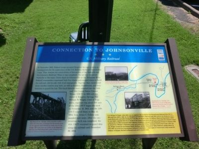 Connection To Johnsonville Marker image. Click for full size.