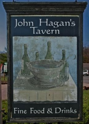 Hagan�s Tavern Sign image. Click for full size.