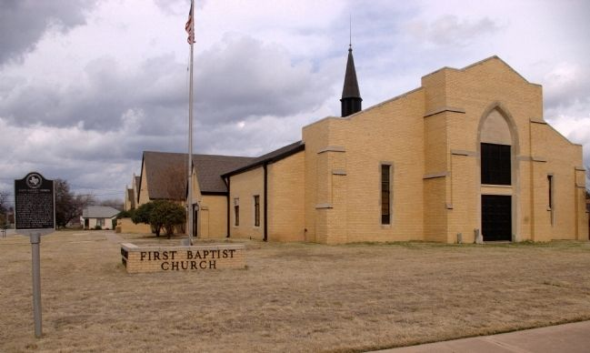 First Baptist Church Of Jacksboro image. Click for full size.