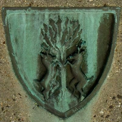 The Mencken Family Coat of Arms image. Click for full size.