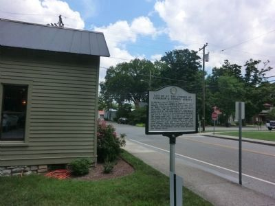 Lot 60 at the Corner of Cameron & Church Street Marker image. Click for full size.